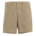 Tan Cotton Twill Short