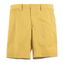 Yellow Cotton Twill Short