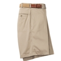 Tan Stretch Cotton Walk Short
