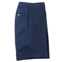 Navy Stretch Cotton Walk Short