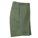 Olive Stretch Cotton Walk Short