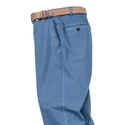 Stretch Denim Slacks