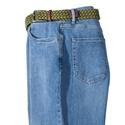 Lighter Blue Six Pocket Stretch Jeans