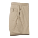 Tan Stretch Cotton Pant
