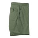 Olive Stretch Cotton Pant