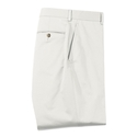 Ivory Stretch Cotton Pant