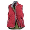 Red Zip Vest
