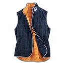 Navy Zip Vest
