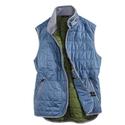 Blue Zip Vest