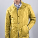 Yellow Torino Quilted Jacket