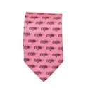 Pink Cars Tie