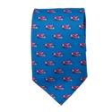 Blue Planes Tie
