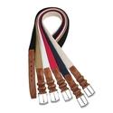 Cotton Belt Italian Braided Stretch