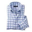 Bold Gingham Check Sport Shirts