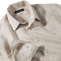 Tan Linen Shirt