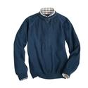 Washed Indigo Cotton Sweatshirt