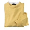Yellow Pima Cotton Crewneck