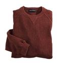 Burgundy Alpaca Sweatshirt