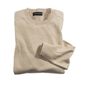 Tan Pima Cotton Crewneck