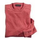 Red Pima Cotton Crewneck
