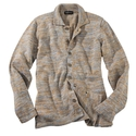 Natural Mix Linen Shirt Jacket
