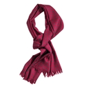 Red Wool Challis Scarve