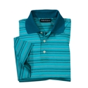 Teal 'Rapallo' Italian Polo