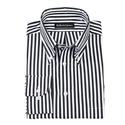 Tape Stripe Button-Down
