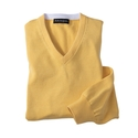 'Temescal Pima Cotton V-neck