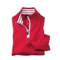 Red 'Varsity' Quarter Zip