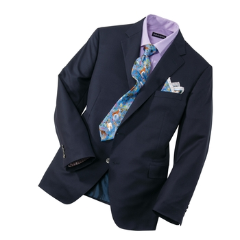 New '101' Navy Blazer