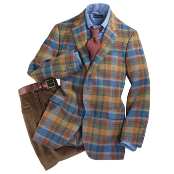 Magee Plaid Sportcoat