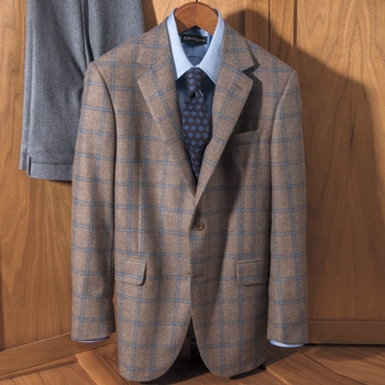 'Madison' Windowpane Sport Jacket