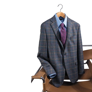 Autumn Check Sport Coat
