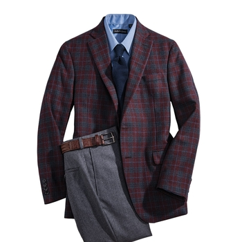 'Grant' Plaid Sport Coat