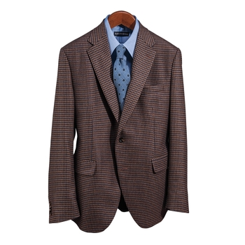 Camel Hair Check Jacket