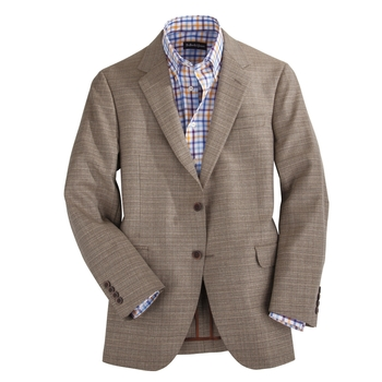 Basketweave Melange Sport Coat