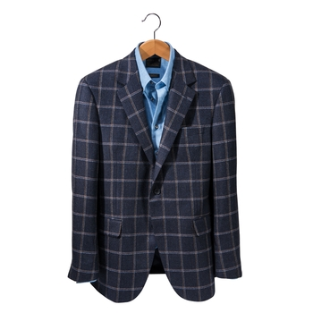 Belvedere Windowpane Sport Coat