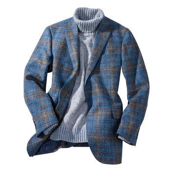 Atherton Plaid Tweed Sport Coat