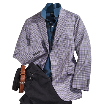 Mini-Check Sport Jacket