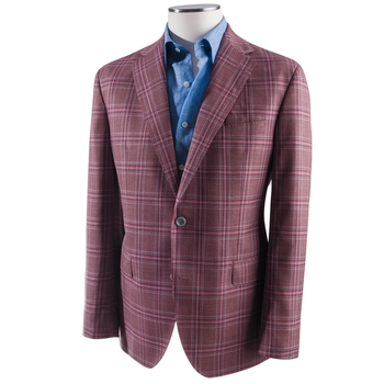 Mark Plaid Sport Coat