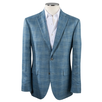 Bamboo Plaid Sport Coat