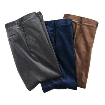 Stretch Corduroy Trousers