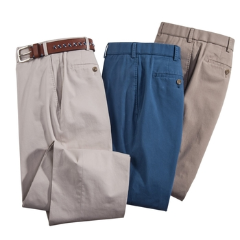 Cotton Stretch Slacks