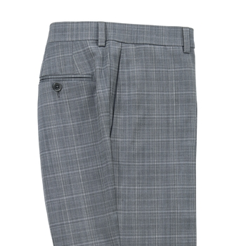 Mateo Plaid Stretch Slacks