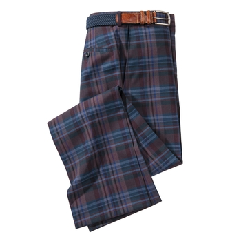 Mason Plaid Slacks