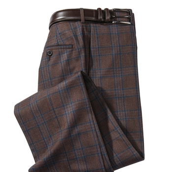 Huntington Plaid Slacks