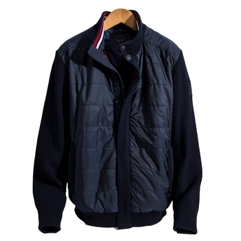 Quilted Hybrid Jacket by Paul & Shark