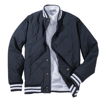 Stadium Quilted Baseball Jacket
