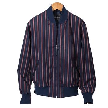 Brigade Stripe Baseball Jacket